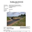 Prüfbericht Bauwerksprüfung