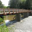Brücke Pfortensteg in Chemnitz