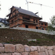 Rohbau eines Einfamilienhauses in Burkhardtsdorf