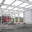 Stahlkonstruktion - Produktionshalle in Gelenau im Rohbau